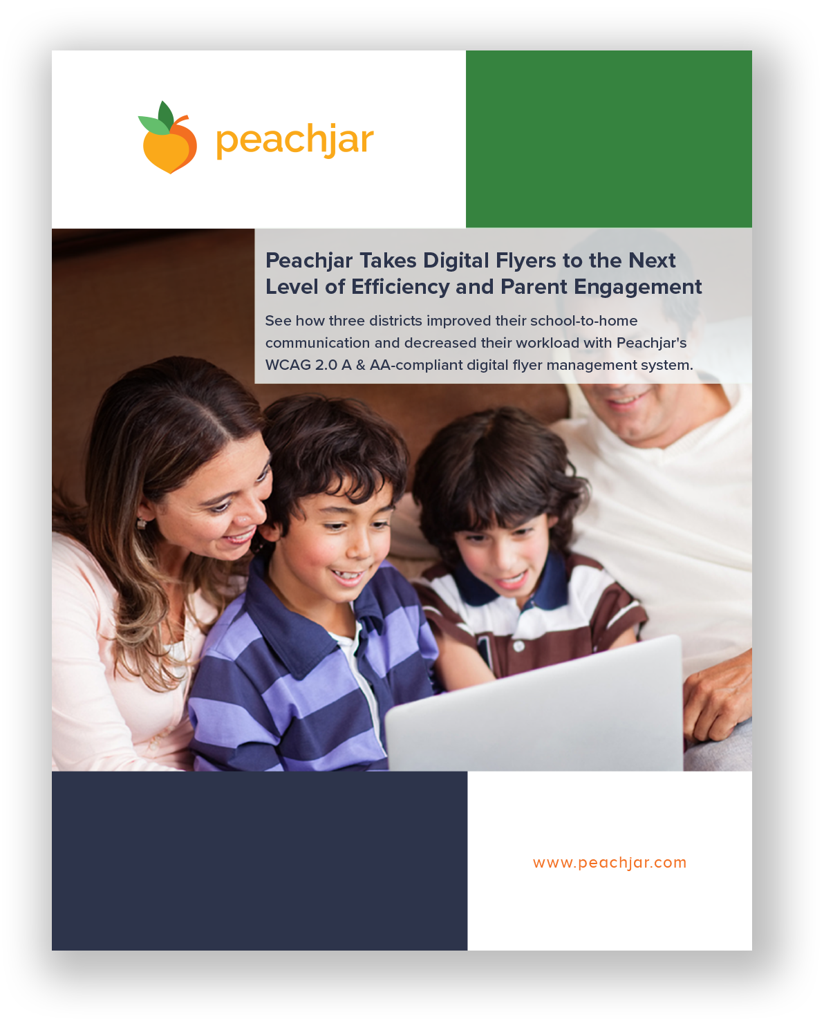 White Paper Cover - Peachjar for Digital Districts