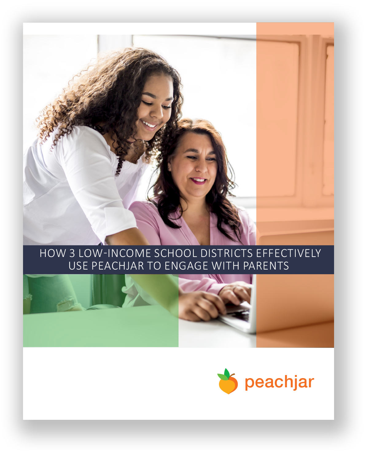White Paper Cover - Peachjar for low-income school districts